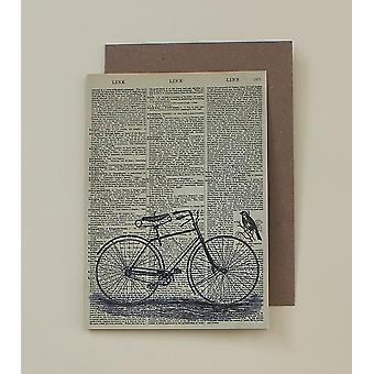 Bicycle Dictionary Art Card
