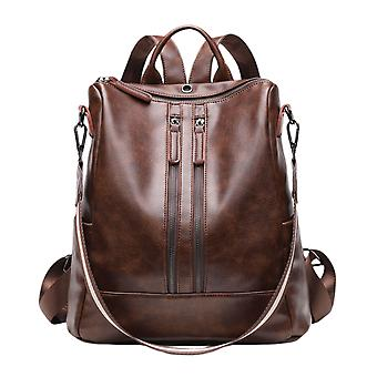 Vrouwen 's Pu Leather Fashion Casual Mini Backpack