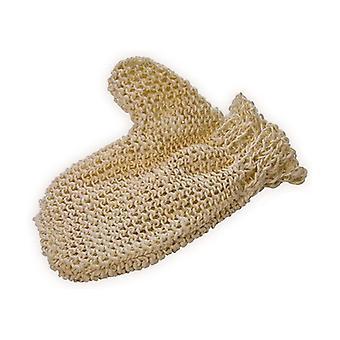 Sisal knitted massage glove, fine mesh 1 unit