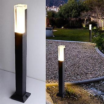 12w Led Garden Light 85-265v Dc12v Led Lawn Lamp Exterior Bollard Floor
