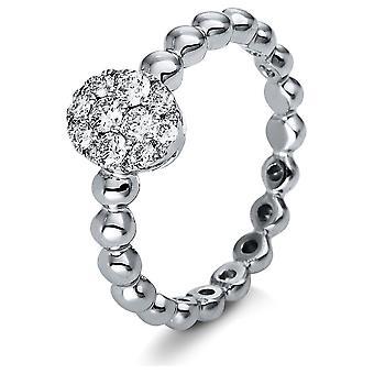 Luna Creation Promessa Ring Mehrfachsteinbesatz  1P170W853-1 - Ringweite: 53