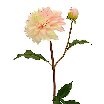 Kunst dahlia tak 50 cm roze