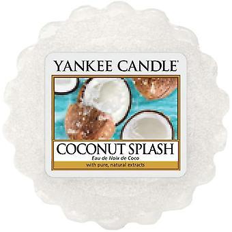 Yankee candle coconut splash wax tart