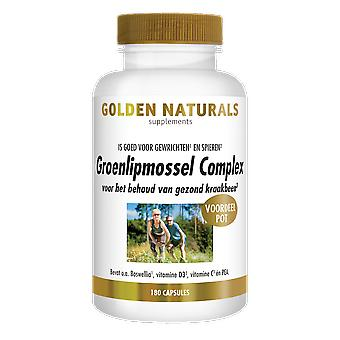 Golden Naturals green-lipped Mussel Complex (180 capsules)