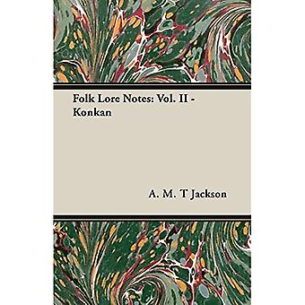 Folk Lore Notes: Vol. II - Konkan: 2