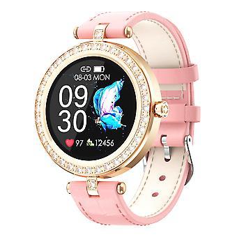 Smart Watch voor vrouwen, Activity Tracking StopWatch fitness tracker sport Horloges voor Android IOS-Pink