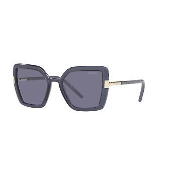 Prada SPR09W 06M420 Crystal Bluette/Blue Sunglasses