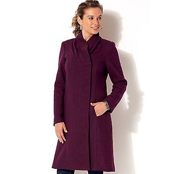 Kwik Sew Sewing Pattern 4198 Misses Swan-Neck Fitted Line Coats XS-XL Uncut