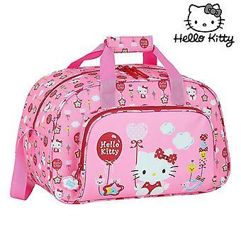 Sportväska Hello Kitty Ballong Rosa (23 L)