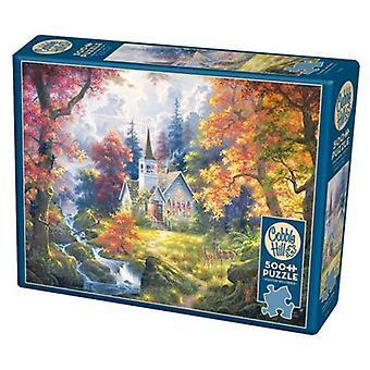 Cobble hill puzzle - chapel of hope - 500 pc