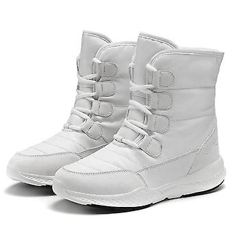 Women Winter Snow Boot Short Style Water-resistance Upper Non-slip Shoes