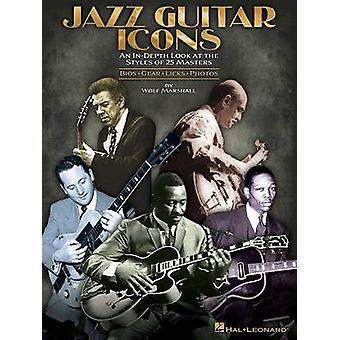 Jazz Guitar Icons by Wolf Marshall