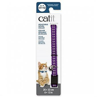 Catit Purple Reflective Breakaway Collar (Dogs , Collars, Leads and Harnesses , Collars)