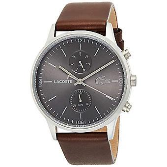 שעון קוורץ לקווסט עם רצועת עור 2011066