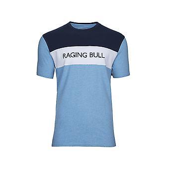 Raging Bull Colour Block Cut & Sew T-Shirt
