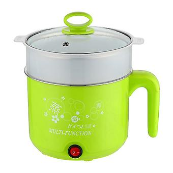 Stainless Steel Electric Cooker With Steamer, Hot Pot Noodles Pot, Rice Cooker,