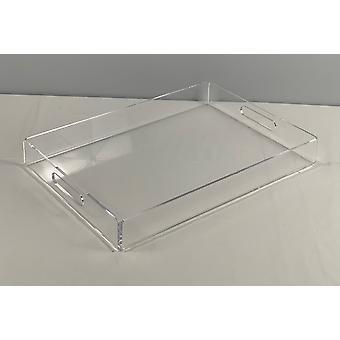 Spura Home Rectangular Perfect Storage Organizer Top Arcrylic Table Tray