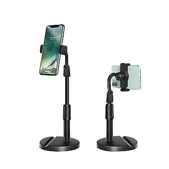 Schwarzer Handyhalter mit einstellbarem Winkel und Höhe x5214