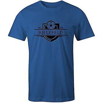 Sporting empire bielefeld 1905 established badge football t-shirt