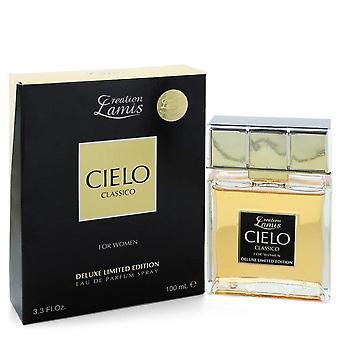 Cielo classico eau de parfum spray deluxe limited edition by lamis 538179 100 ml