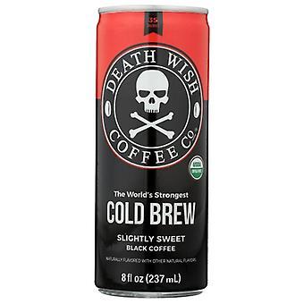 デスウィッシュコーヒーコーヒーは、12 X 8オンスのケース、スライトSwt、Brwすることができます