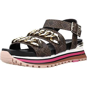 Liu-jo Sandals Maxi Wonder Couleur Brune