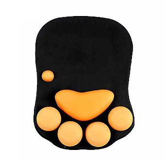 猫クローシリコンマウスパッドリストバンド肥厚オフィスコンピュータゲームリストパッド