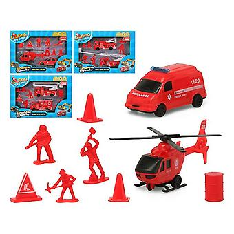 Vehicle Playset Red 119350