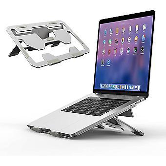 Laptop Ständer, Verstellbarer Tablet tständer aus Aluminium Riser Tragbarer Notebookhalter-Ständer