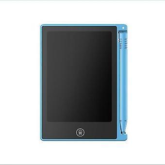 Tablet de escrita lcd, almofada de caligrafia eletrônica de desenho digital de 4,5 polegadas