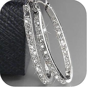 Dazzling Elegant 925 Sterling Earrings Silver