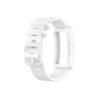 Correa de reloj conectada de silicona para Fitbit Inspire HR White