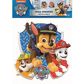 Paw Patrol Wall Sticker A3 Group Producto con licencia oficial