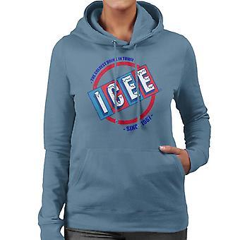 ICEE Coldest Drink In Town Since 1961 Women's Hooded Sweatshirt