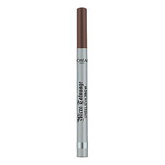 Eyebrow Liner Unbelievabrow L'Oréal Paris Micro Tatouage Shade 108-dark brunette