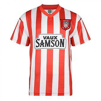 Poängdragning Sunderland 1997 Retro Fotbollströja