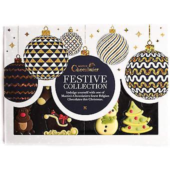Martin's Chocolatier Christmas Chocolate Selection Box   2 Boxes   Christmas Chocolate Assortment   Chocolate Gift for Christmas