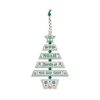 التاريخ وهيرالدري عيد الميلاد شجرة الديكور - نوح 269800662 اليد الخشبية وضعت
