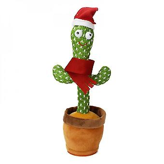 120 Songs dancing singing mimicking cactus toy plush in pot early education birthday gift mz1139