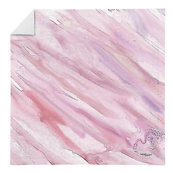 Kitchen towels carolines treasures sc2057nap flamingo #2 on pink napkin