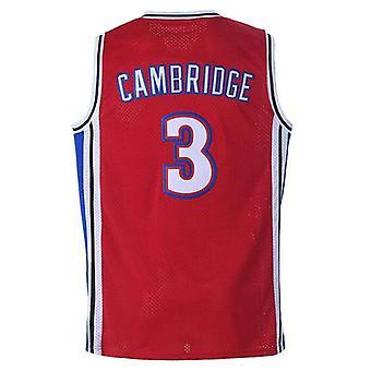 Mens Calvin Cambridge Shirts #3 La Knights Basketball Jersey