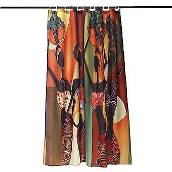African Woman Bathroom Shower Curtains Home Décor 60''x72''