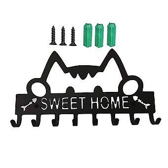 Key Holder For Wall Mount Home Decorative Hook Rack Metal Hanger