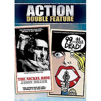 99 & 44/100 procent döda/Nickel Ride [DVD] USA import