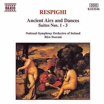 O. Respighi - Respighi: Olevinaan ja tansseja, Suites nrot 1-3 [CD] USA tuonti