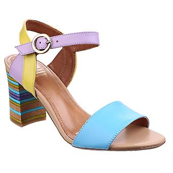 Riva Womens Baxin Multi Leather Ladies Sandal Turquoise