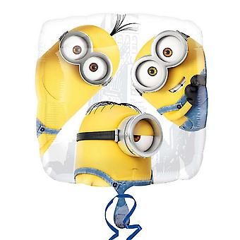 Despicable Me Anagram 18 Inch Minions Foil Balloon