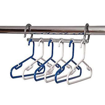 Caraselle Blue & White Childrens Space Saver Hanger Pack