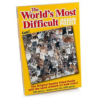 Na świecie najbardziej trudne Układanka - koty (529 sztuk)