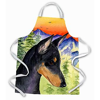 Carolines Treasures  SS8425APRON Manchester Terrier Apron